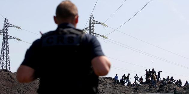 Plusieurs migrants interpellés alors qu'ils tentaient de rejoindre l'Angleterre par avion, une première