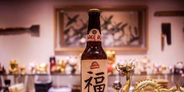La Cervecería Fortuna creó una cerveza a base de sake.