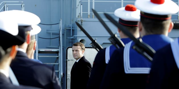 Le service national de Macron ne durera finalement qu'un mois.