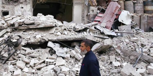 Ce qui se passe en Ghouta orientale est bel et bien un crime de guerre.