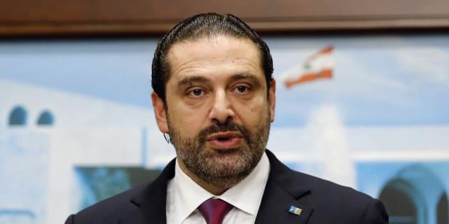 Lebanon's Prime Minister Saad al-Hariri speaks after a cabinet meeting in Baabda near Beirut, Lebanon December 5, 2017. REUTERS/Mohamed Azakir