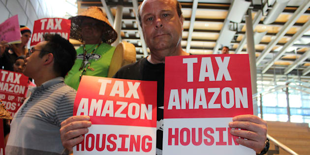Seattle verso l'Amazon Tax per aiutare i senzatetto