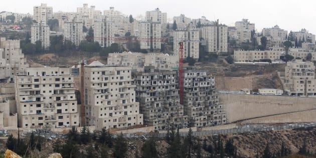 Des constructions à Jérusalem-Est le 28 décembre 2016.