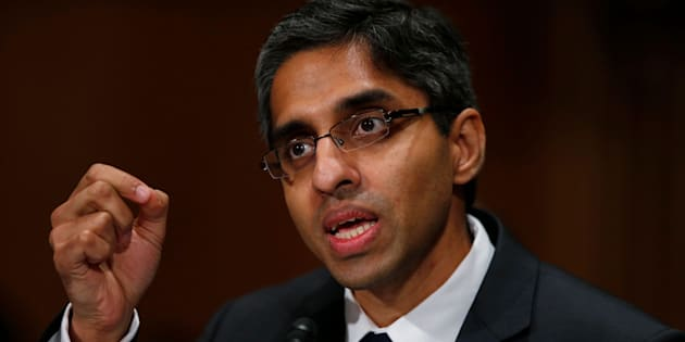 Surgeon General Dr. Vivek Murthy hopes his new report on drugs and alcohol will call attention to the public health crisis of addiction in America.