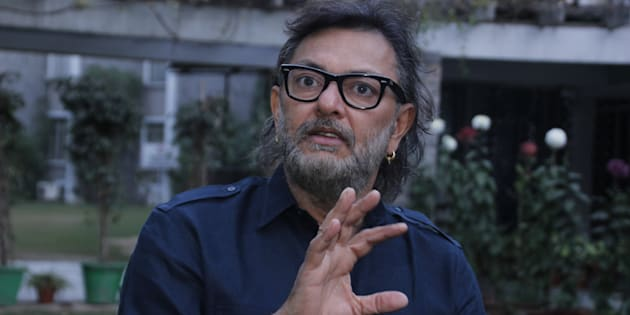 NEW DELHI, INDIA - JANUARY 11: (EDITOR'S NOTE: This is an exclusive shoot of Hindustan Times) Bollywood filmmaker Rakeysh Omprakash Mehra during an interview at India International Center on January 11, 2016 in New Delhi, India. (Photo by Shivam Saxena/Hindustan Times via Getty Images)