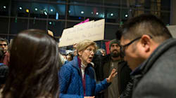 Dems Come Out To Airports Around The Country To Support Muslims,