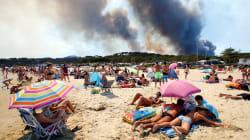 Francia e Italia stretti dalla stessa morsa degli incendi. Colpite le aree turistiche. Ma da noi è più alto il numero di