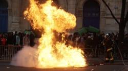 Incidents après le blocage du lycée Bergson et de plusieurs