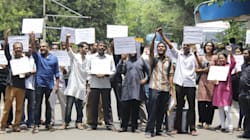 IIT-Madras Students Protest Against Those Who Assaulted Scholar For Taking Part In Beef