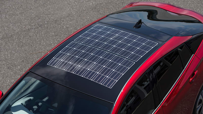 Panasonic Is Building The Solar Roof For Japan S Prius