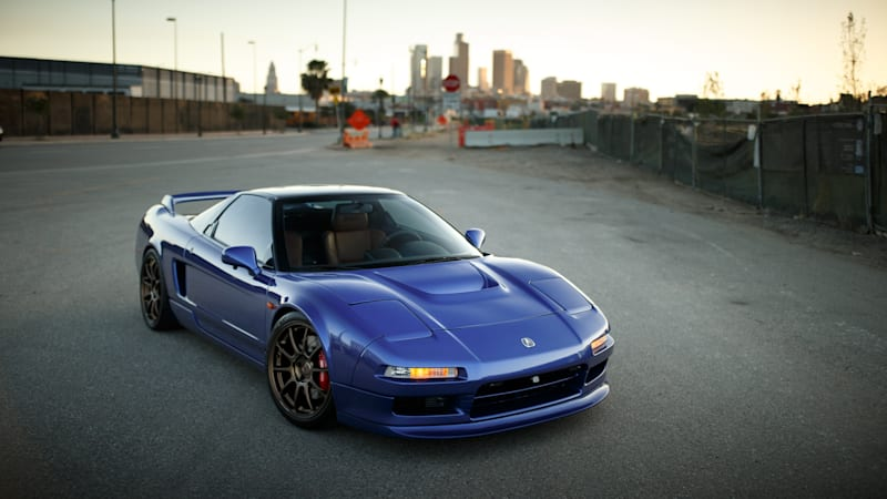 Clarion Builds' 1991 Acura NSX going up for auction at Barrett-Jackson