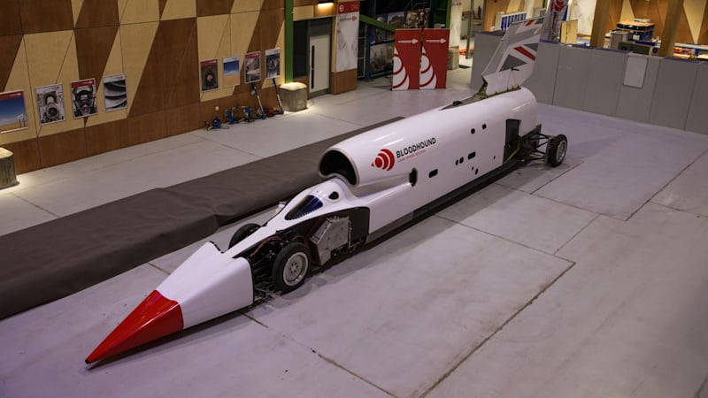 Bloodhound SSC gets a new color scheme for its new lease on life