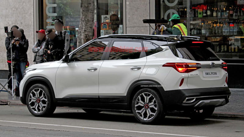 Kia Seltos small crossover caught uncovered in spy shots ...