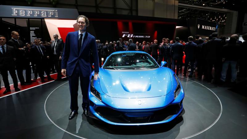 Ferrari-Chef John Elkann setzt auf eine elektrische Zukunft