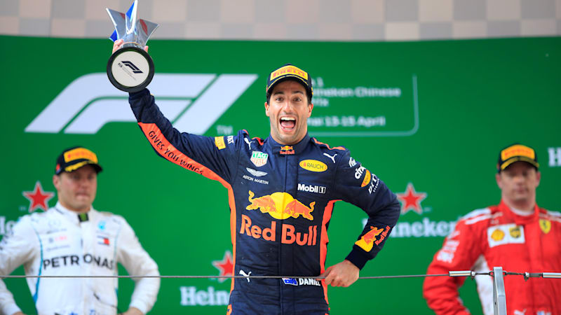 Ricciardo takes unlikely victory in Shanghai at 2018 Chinese Grand Prix
