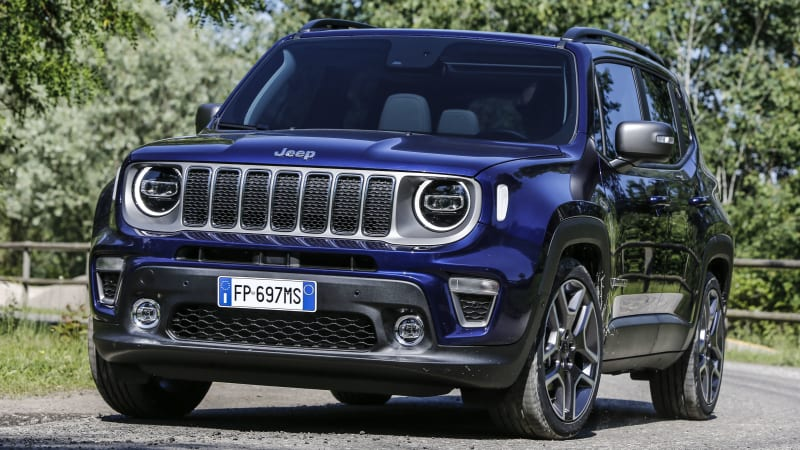 2019 Jeep Renegade Revealed In Europe Autoblog