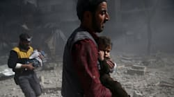Syrian Regime's Airstrikes Kill Scores Of Besieged Civilians In Eastern