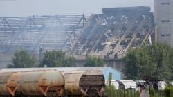 L'explosion d'un silo à grains à Strasbourg fait 4 blessés dont 3 en urgence