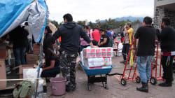Estadio Olímpico Universitario cerrado por presunta opacidad en la entrega de ayuda a