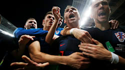 La Croazia batte l'Inghilterra 2-1 e vola in