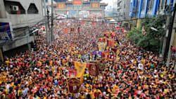 FOTOS: Miles de católicos en Filipinas se reúnen para la procesión del 'Nazareno