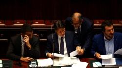 A Palazzo Chigi per i tg (di A. De
