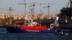 Malte accueille un bateau avec 114