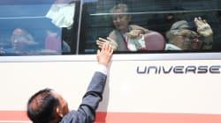 Après les retrouvailles entre familles des deux Corées, les images des déchirants
