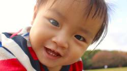 #家族のこと教えて 0歳・もっち君の答え「パパもママも、保育園もだいすき」