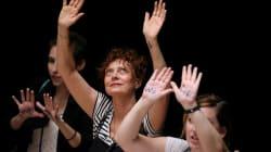 Susan Sarandon Arrested Protesting Trump's Immigration