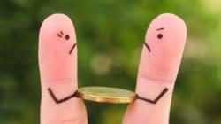 Cómo manejar el dinero con tu ex después del