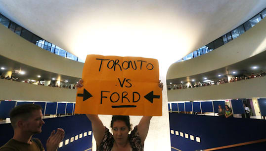 What Court Challenge? Ontario To Move Ahead With Toronto Council