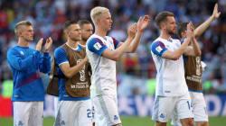 W杯アイスランド初戦、テレビ視聴者のうち99.6%が観戦