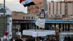 Parade militaire à Bagdad pour fêter la victoire sur l'Etat