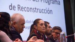 Plan de Reconstrucción de Sheinbaum contempla 5 mmdp para