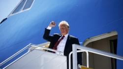 Trump débarque au Québec... mais pas pour très