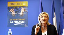 Sur la sortie de l'euro et de l'UE, Marine Le Pen a complètement retourné sa