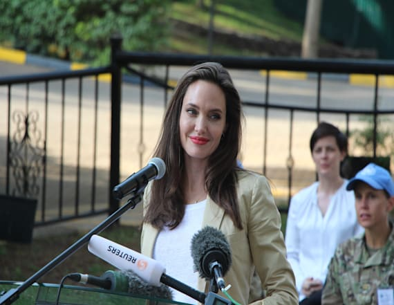 Bizarre reason Angelina Jolie left Target