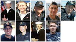 U.S. Navy Recovers Remains Of All Sailors Missing After USS McCain