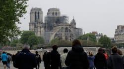 Macron vise une reconstruction de Notre-Dame de Paris en cinq