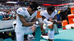 NFL選手らによる国歌斉唱時の起立拒否問題、今シーズンも再燃。キャパニックは「揺るぎない精神力」と称賛