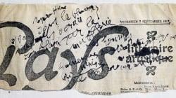 Lettre de Mata Hari: