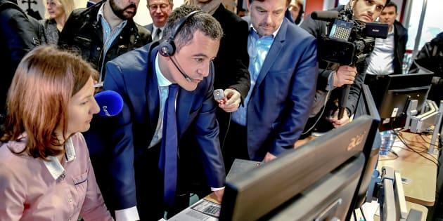 """Prélèvement à la source: une prime aux agents du fisc pour compenser """"la petite surcharge de travail"""" (Photo prise le 2 janvier 2019 dans un centre des impôts à Amiens)."""