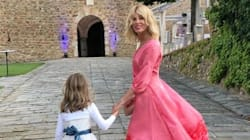 Alessia Marcuzzi si scatena alle nozze dell'ex Inzaghi (e fa da