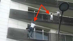 📹 VIDEO El Spider-Man de la vida real escala un edificio para salvar a un niño