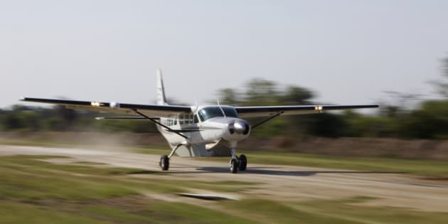 One of the light planes involved in the crash was a single-engine Cessna.