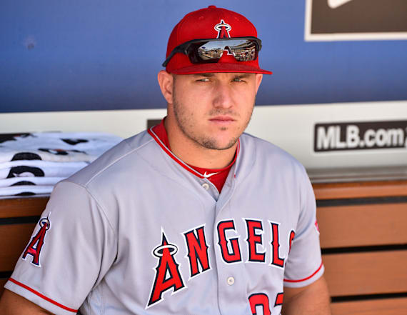 Angels fire back at commish after Trout comments
