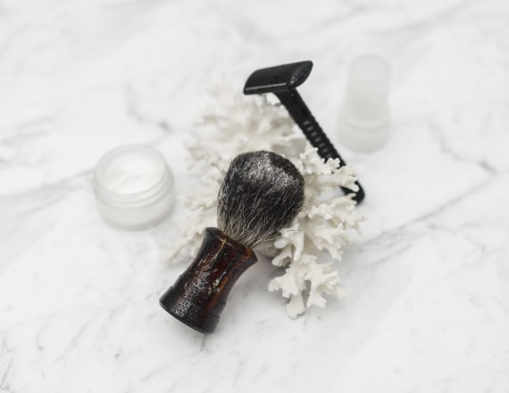 Any guy would love this high-quality shaving set