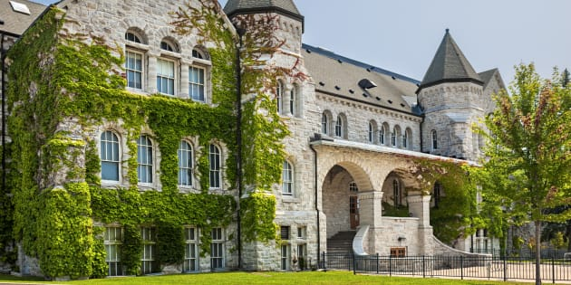 Queen's University's campus in Kingston, Ont. is seen in a stock photo.