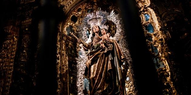 La cathédrale de Séville a été construite entre 1402 et le XVIᵉ siècle.